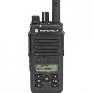 Motorola DP2600E portable radio