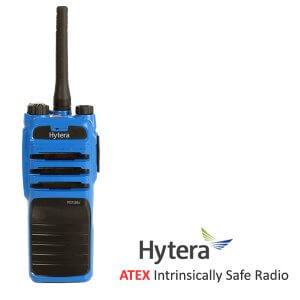 Hytera PD715Ex ATEX Walkie Talkie