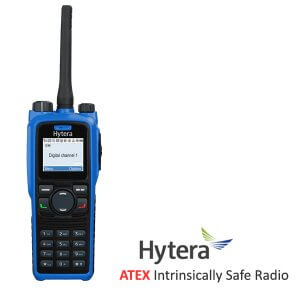 Hytera PD795EX ATEX Walkie Talkie